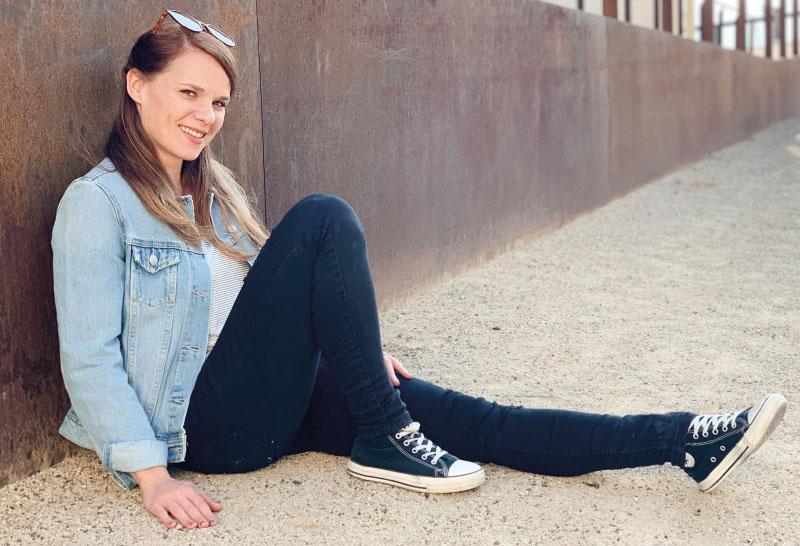 Kathrin Kühner Gründerin von BOWLEANIES Leder Faserstofftaschen - Faires und Nachhaltiges Label